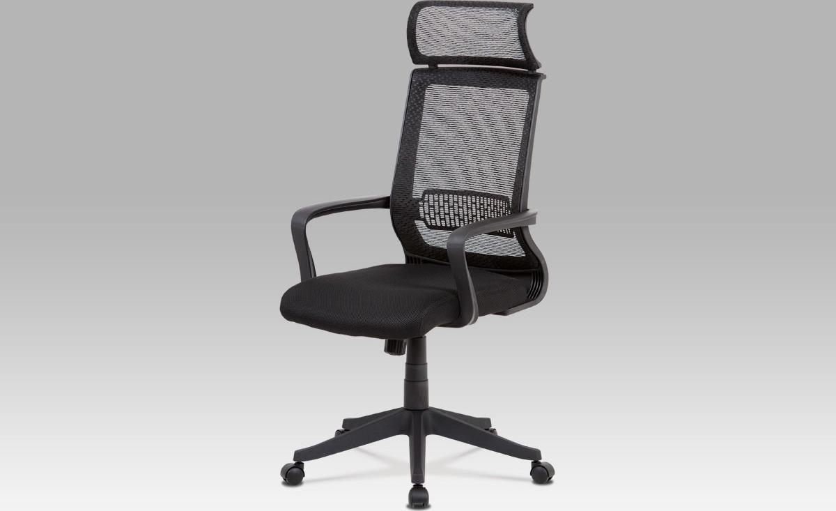 Kancelářská židle  látka MESH   houpací mechanismus