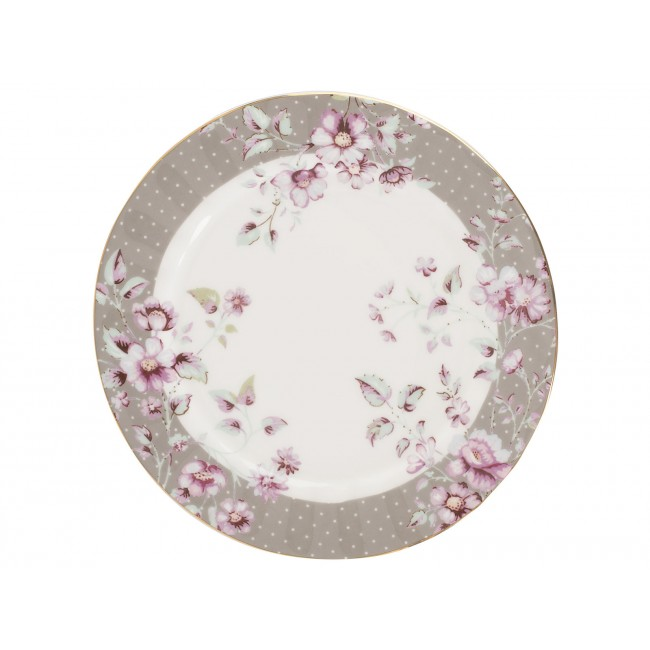 Creative Tops Dezertní talíř Ditsy | květy Barva: šedá