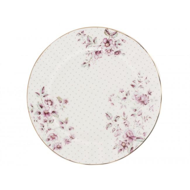 Creative Tops Dezertní talíř Ditsy | květy Barva: bílá