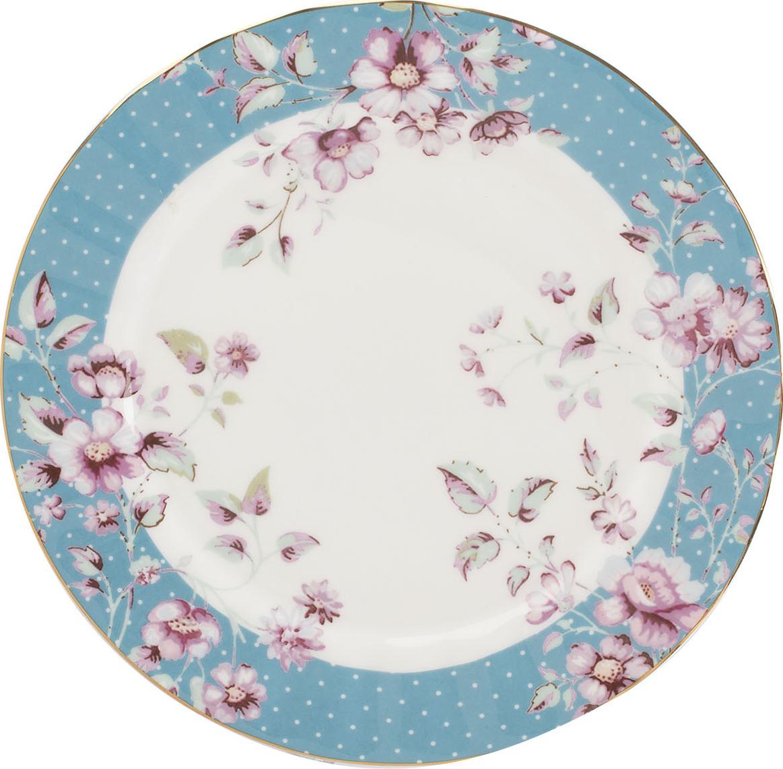 Creative Tops Dezertní talíř Ditsy | květy Barva: modrá