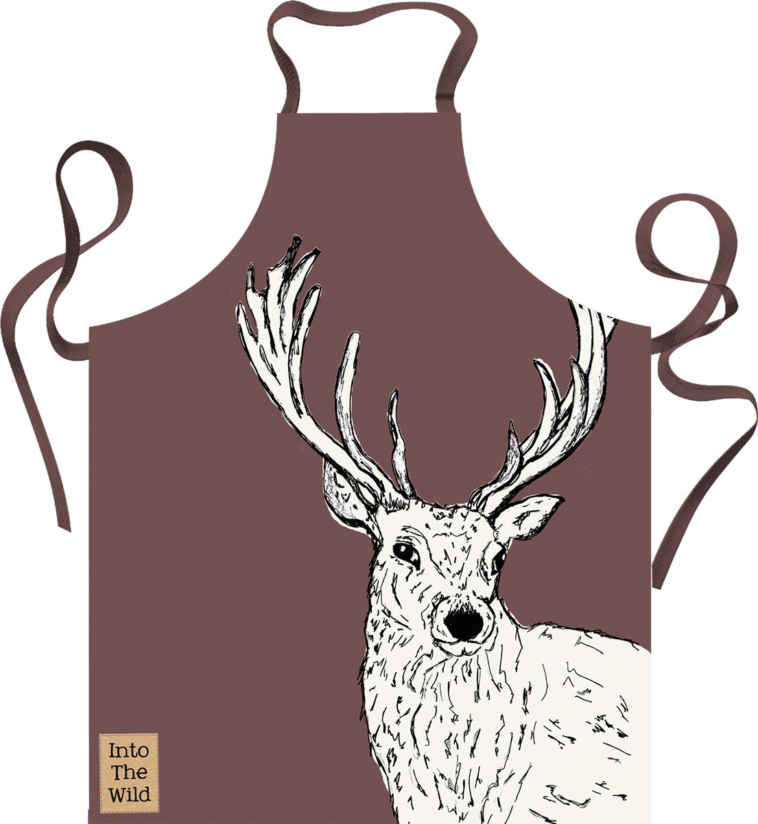 Creative Tops Kuchyňská zástěra Into The Wild Barva: hnědá