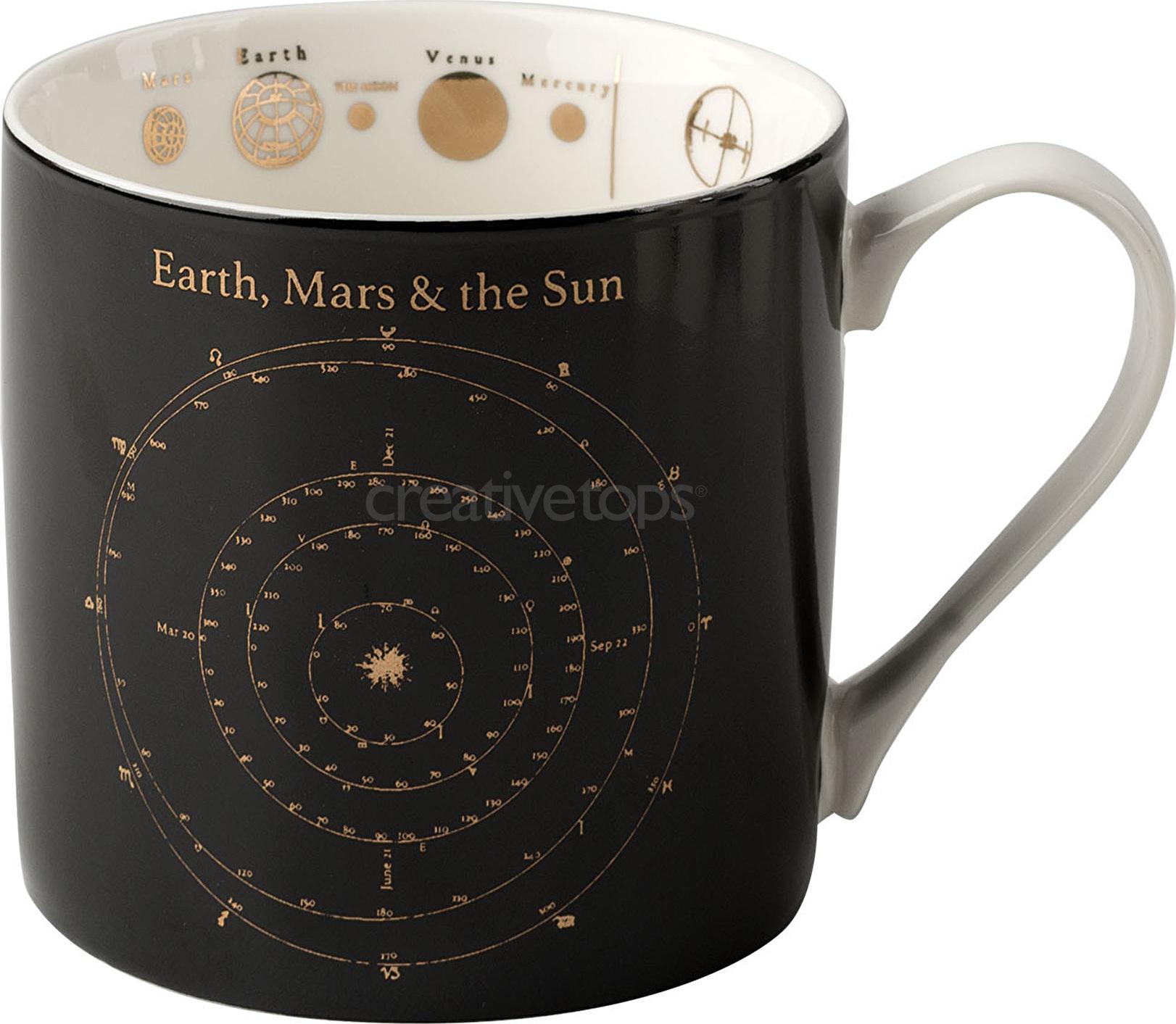 Creative Tops Porcelánový hrnek Astronomy Barva: černá