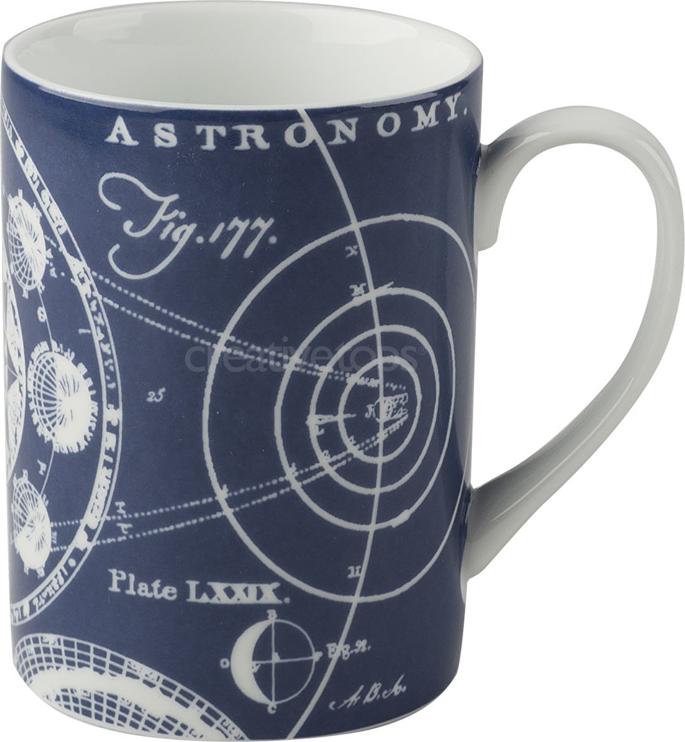 Creative Tops Porcelánový hrnek Glow In Dark Astronomy