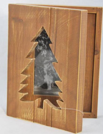 ID Dřevěný rámeček na fotku dřevěný