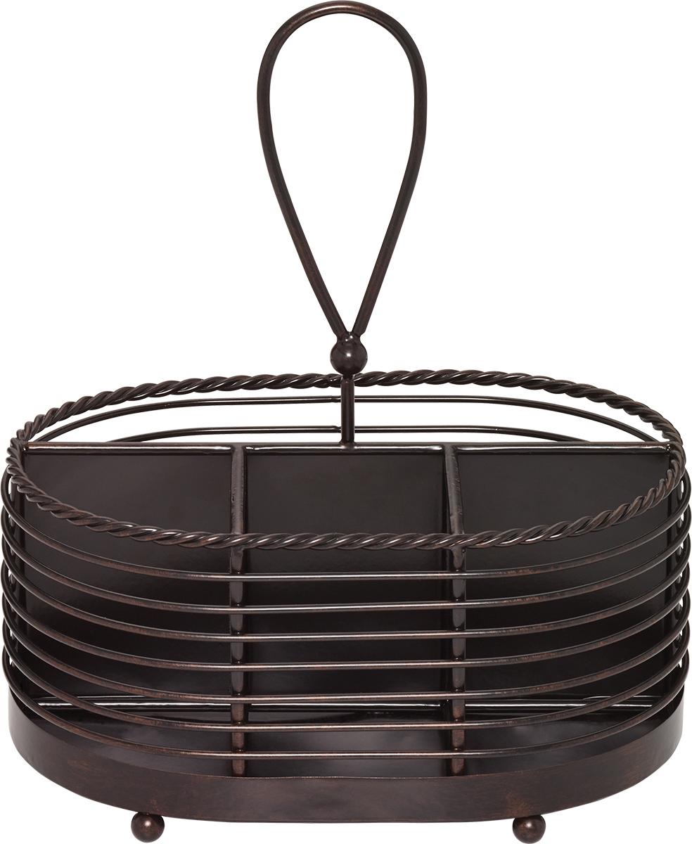 Creative Tops Drátěný košík na příbory a ubrousky