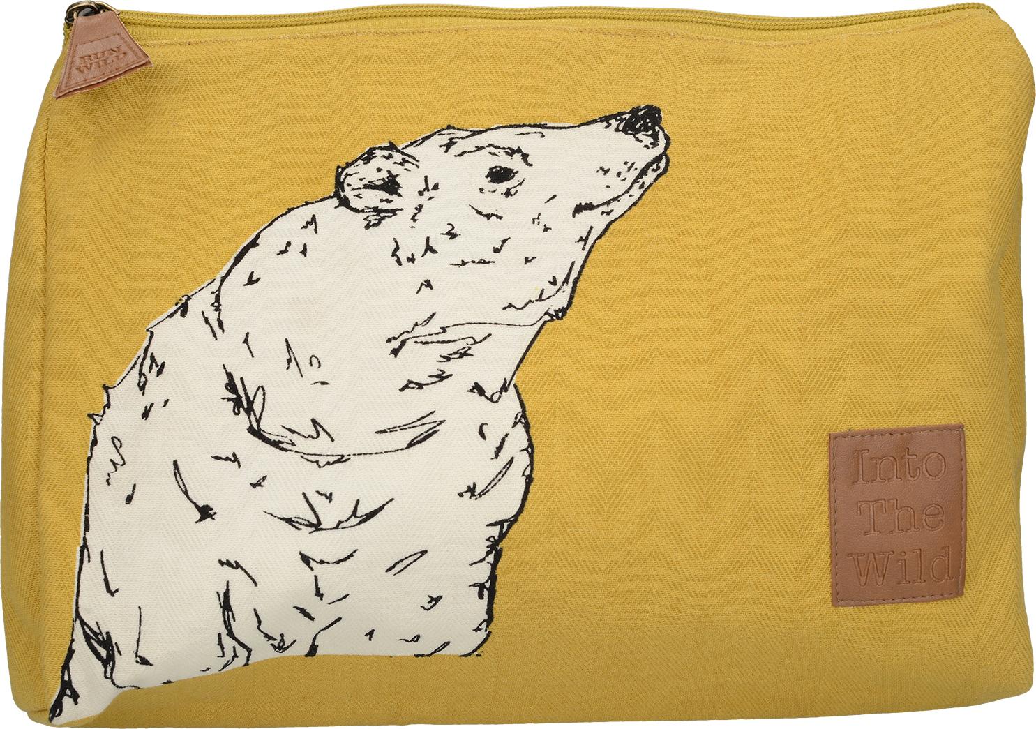 Creative Tops Kosmetická taška Into The Wild s medvědem