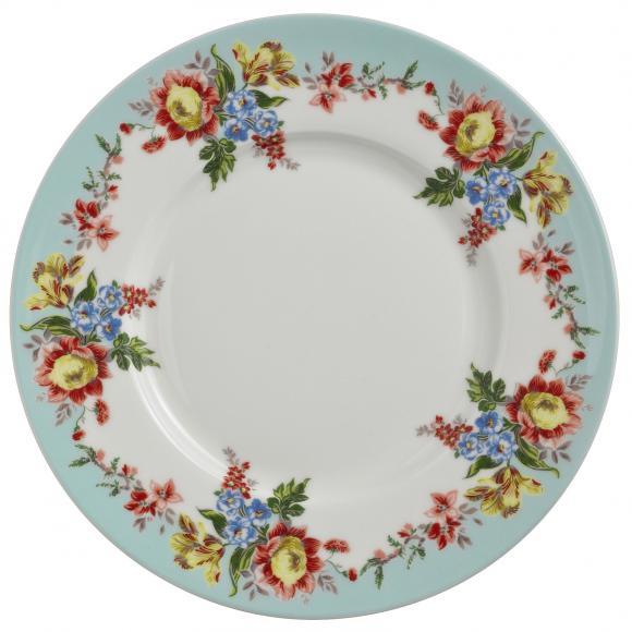 Dezertní porcelánový talíř Amelia 19x19cm