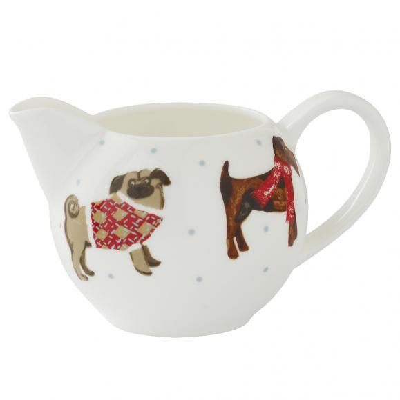Creative Tops Porcelánová konvice na čaj Hound Dog 23,5x16,5 cm