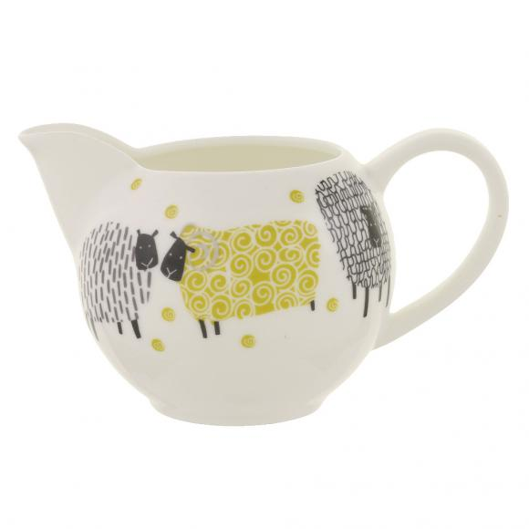 Creative Tops Porcelánová konvice na čaj Dotty Sheep 23,5x16,5 cm