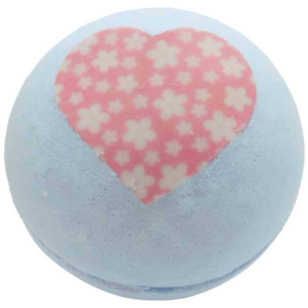 BOMB Cosmetics Balistik | koule do koupele | Květinové srdce