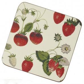 Ulster Weavers Korkové prostírání Strawberry Rozměry: 10x10cm - 4ks