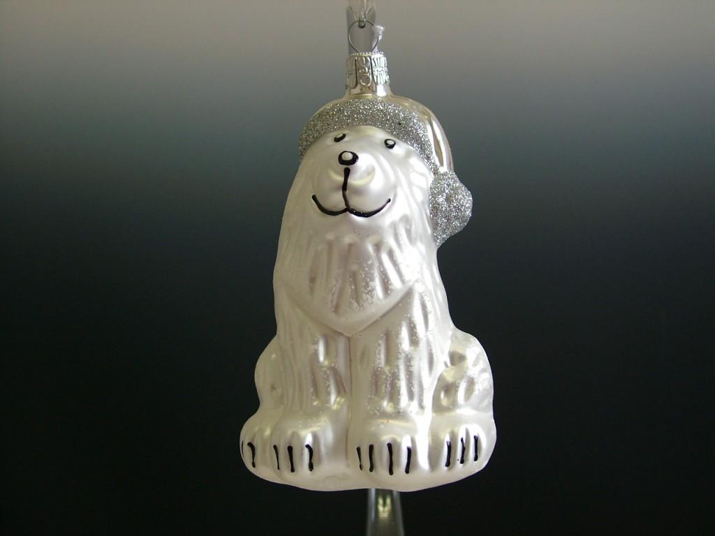 Slezská tvorba Skleněná figurka | pes s čepicí Balení obsahuje: 1 kusů