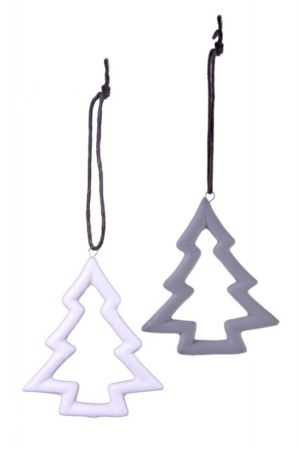 Stromeček|dekorace Barva: bílá