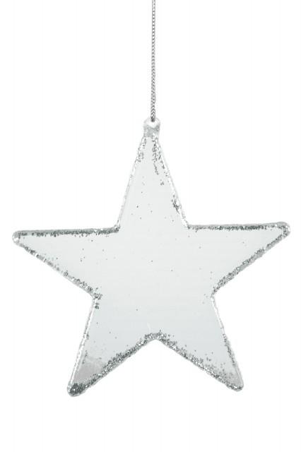 Ego Dekor Skleněná hvězda|ozdoba k zavěšení