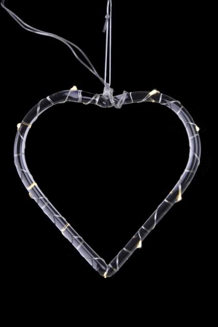 Dekorace srdce|LED
