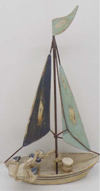 Artium Plachetnice   kovová dekorace