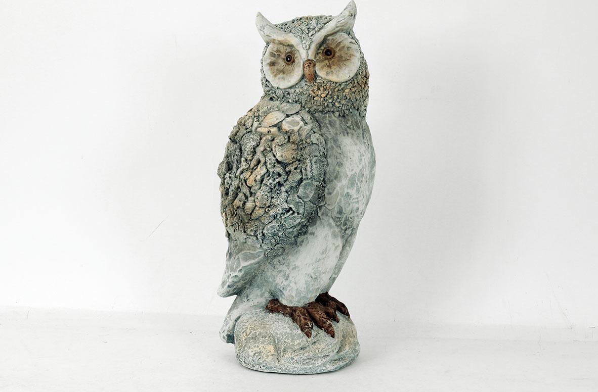 Sova | MgO keramika | zahradní dekorace