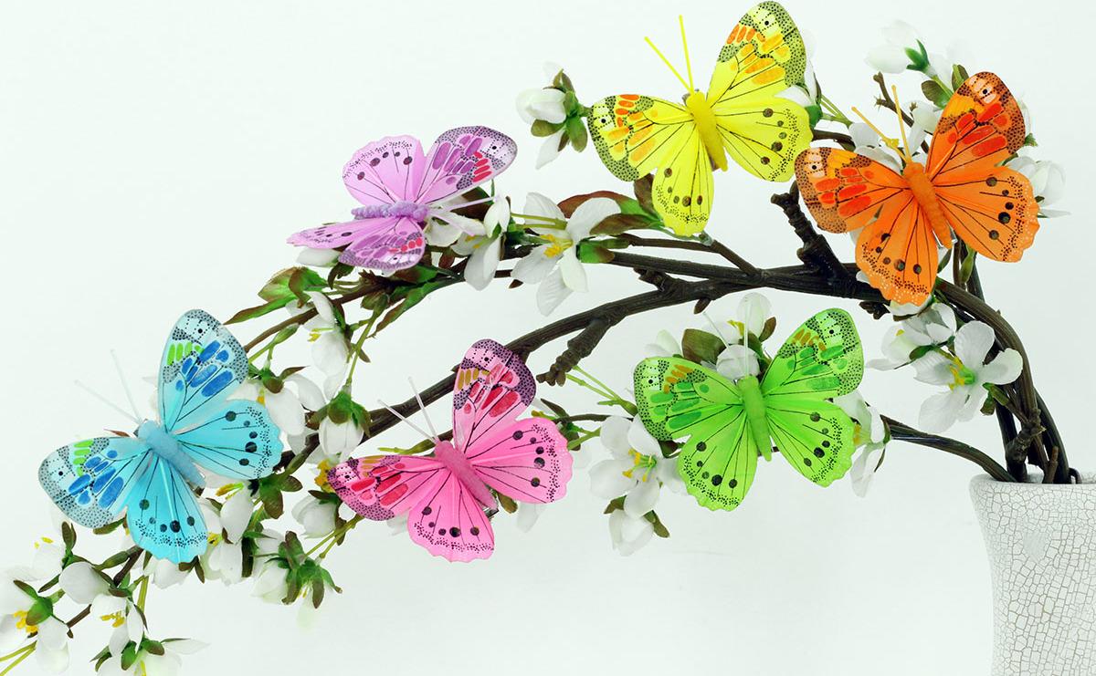 Artium Motýl na klipu | sada 12ks