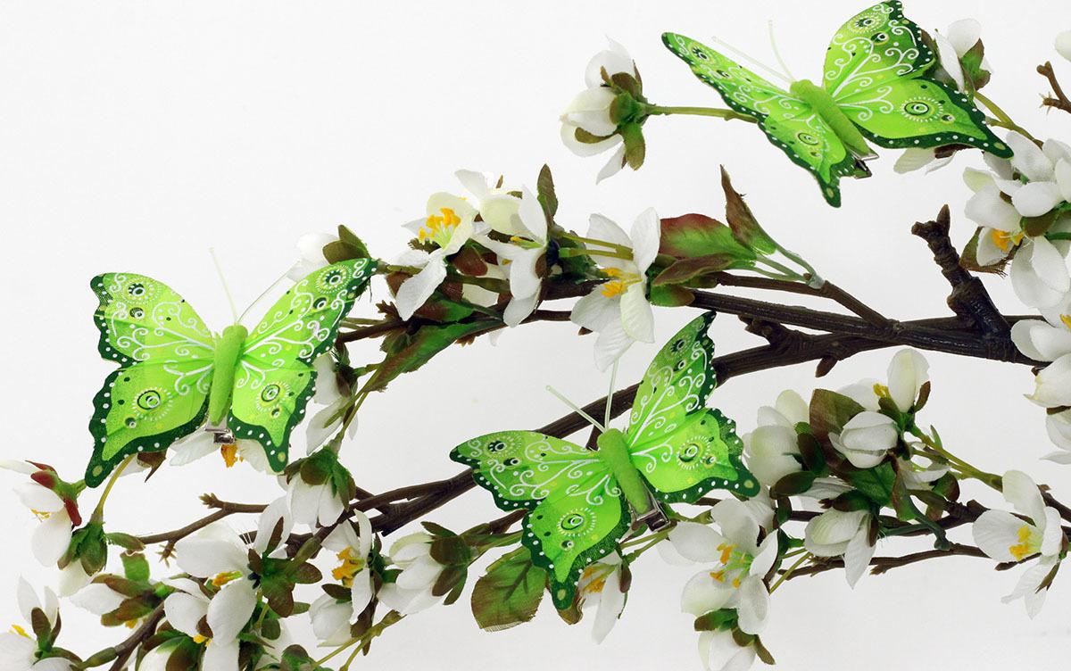 Artium Motýl s klipem | 8cm| sada 12ks