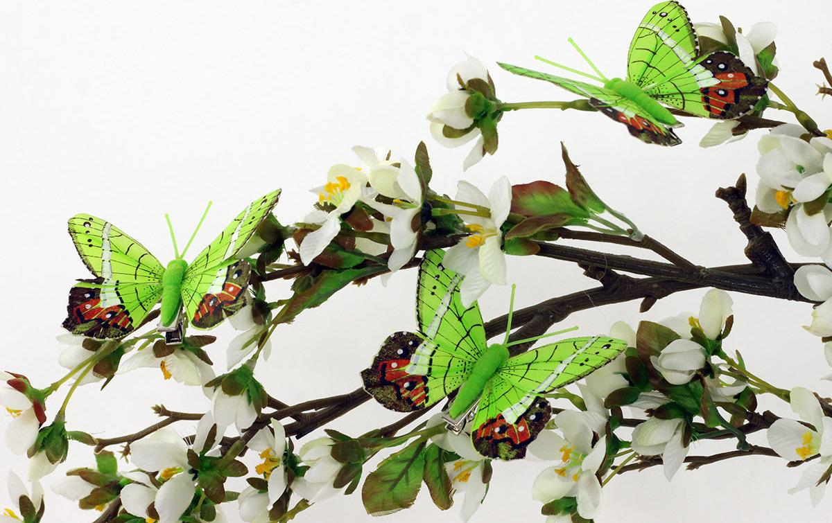 Artium Motýl na klipu | sada 12ks | 8cm
