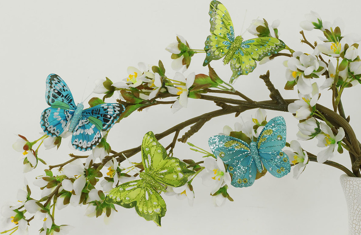 Artium Motýl s klipem | sada 8ks
