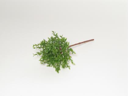 KI Větev čajové lístky zelená 26cm