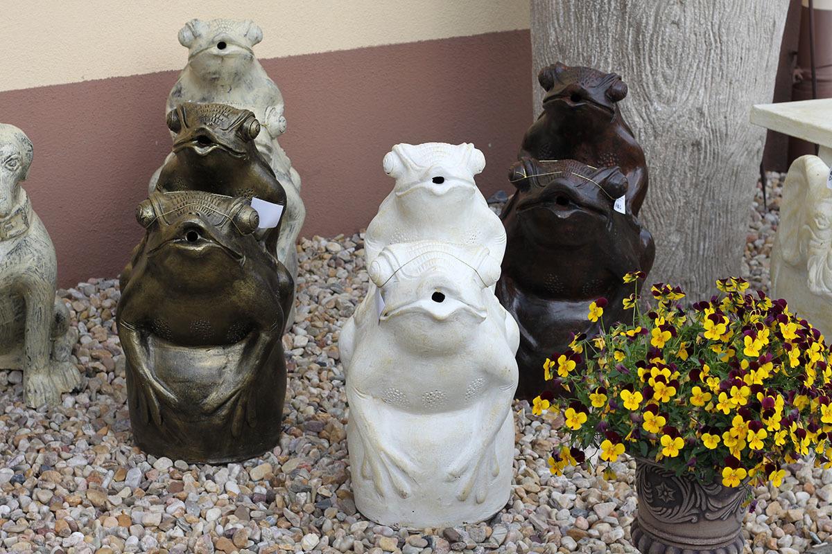 Artium Žáby keramické Barva: bílá