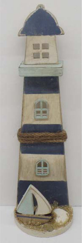 Artium Maják | dřevěná dekorace
