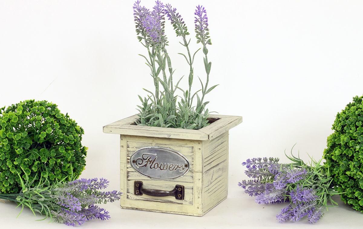 Artium Truhlík dřevěný   Flower