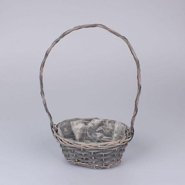 Casa de Engel Ratanový košík 23x9x17cm Barva: šedá