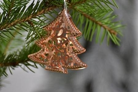 Harasim Vánoční osvětlení - stromeček 160 cm, měď
