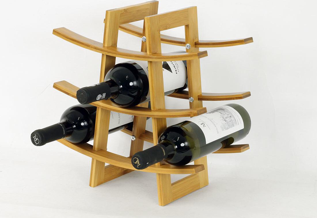 Artium Stojan na víno| bambus