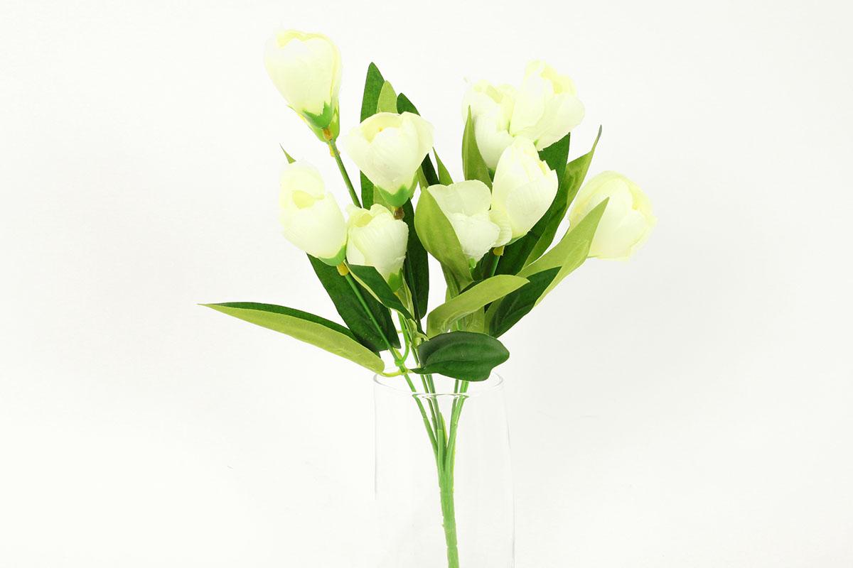 Artium Květina umělá | krokus puget Barva: bílá