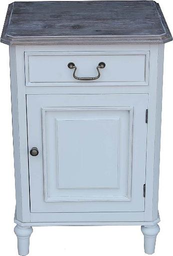 ID Noční stolek   Provence   bílý   70x45x35cm
