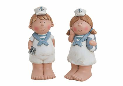 KI Dítě námořník keramika 22cm Provedení: Holka