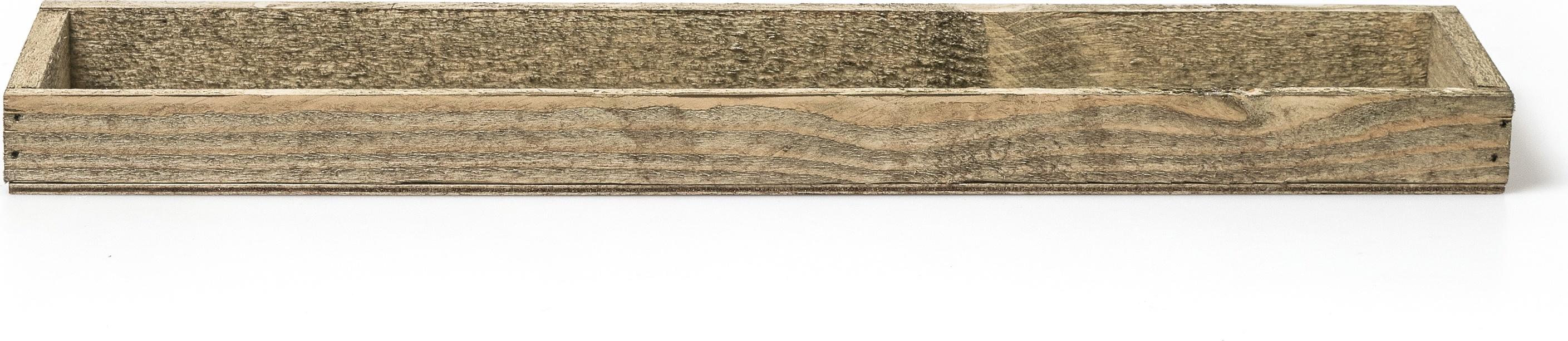 ID Dřevěný tác šedý úzký