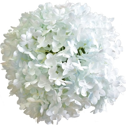 HR Dekorační koule hortenzie, světle modrá