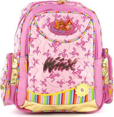 Školní batoh Winx Club | Friends 4 Ever | růžová