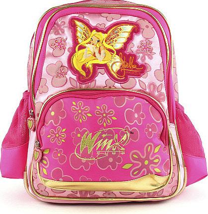 Winx Club batoh víla Stella s křídly