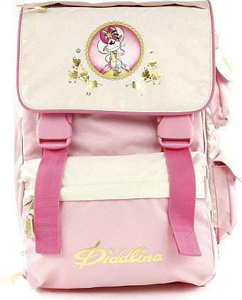 Školní batoh Diddlina Teen princezna | Diddl & Friends