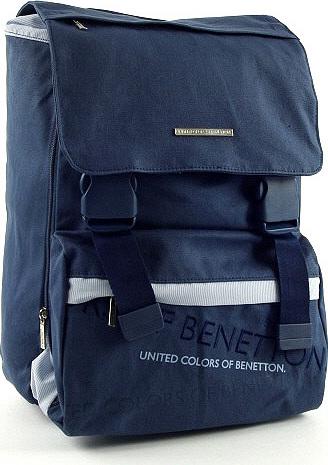 2839fd8b72b Školní batoh Benetton na přezky