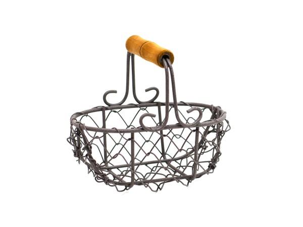 Košík drátěný Antik Velikost: malý