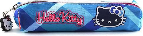 Hello Kitty Školní penál mini modré kostky