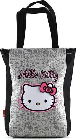 Nákupní taška Hello Kitty | šedá