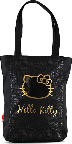 Nákupní taška Hello Kitty | černá