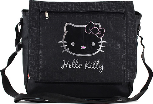 Taška přes rameno | Hello Kitty | černá