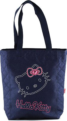 Nákupní taška Hello Kitty | modrá jeans