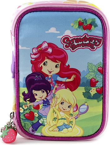 Školní penál s náplní Strawberry motiv zahrady