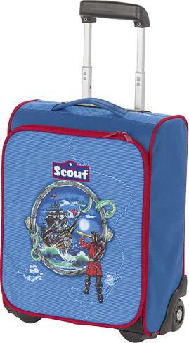 Scout Kufřík | na kolečkách | dětský | piráti
