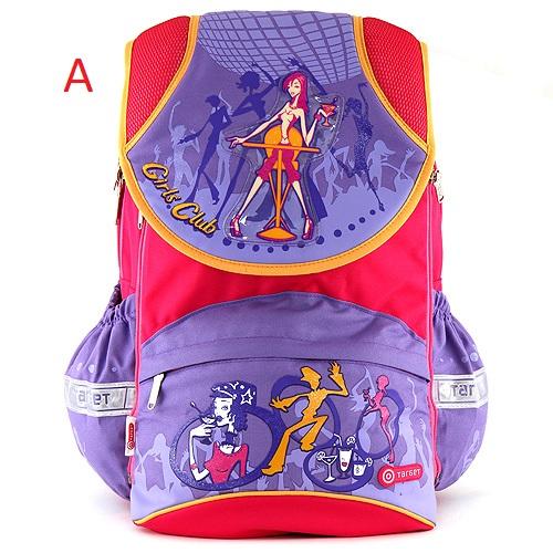 Target Školní batoh   dívčí   s klopnou   2 druhy Provedení: A